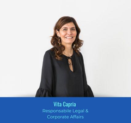 Vita Capria - Responsabile Legal & Corporate Affairs