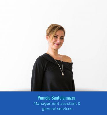 Pamela Santolamazza - Management assistant & general services